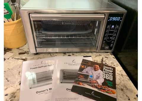 Emeril Power Air Fry 360 Oven